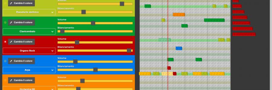 LegoRythm Table
